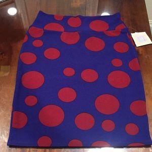 XL LuLaRoe Cassie Skirt B06 25